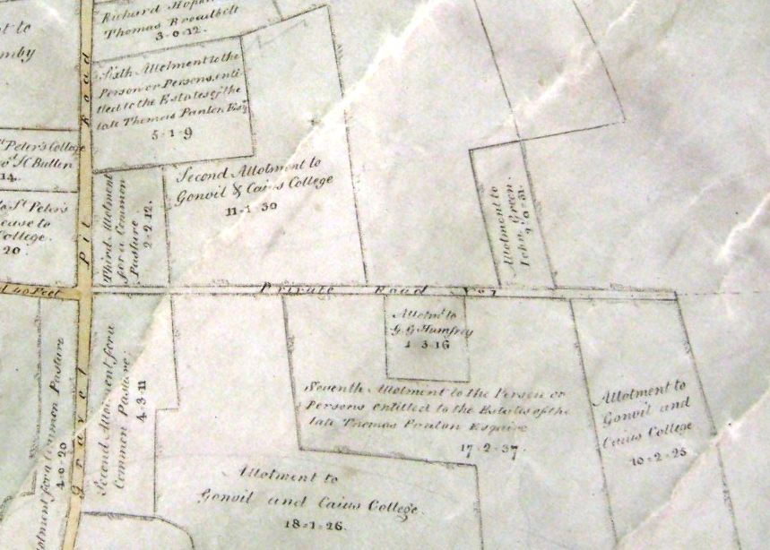 Barnwell Enclosure Map 1812, CA Q/RDc16