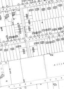 Baldock Way area in 1927