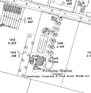 Cherry Hinton Road Pumping Station site 1927