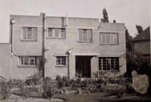 22 Sedley Taylor Road (rear) circa 1948