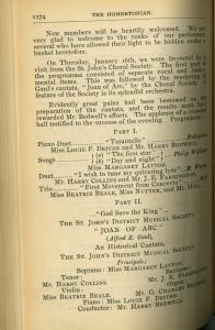 St John's choral society 1905